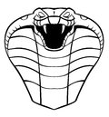 Cobra head illustrator desain eps Royalty Free Stock Image