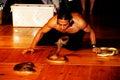Cobra man spectacle Royalty Free Stock Photo