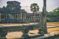 Cobra Vasuki guards Angkor Wat, Cambodia