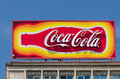 Coca cola advertising Stock Afbeelding