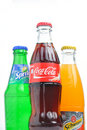 Coca cola, sprite, schweppes Royalty Free Stock Photo