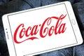 Cocacola logo Royalty Free Stock Photo