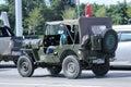 Coche viejo de jeep private Foto de archivo libre de regalías