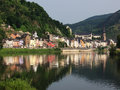 Cochem germany on the shores of river moselle is seat and biggest place in zell district in rhineland palatinate with just under Stock Images
