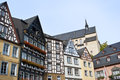 Cochem, half-timbered houses Stock Image