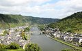 Cochem region at the heart of romantic moselle valley germany is seat and biggest place in zell district in rhineland palatinate Royalty Free Stock Photography