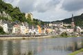 Cochem region at the heart of romantic moselle valley germany is seat and biggest place in zell district in rhineland palatinate Royalty Free Stock Image