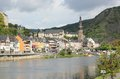 Cochem region at the heart of romantic moselle valley germany is seat and biggest place in zell district in rhineland palatinate Royalty Free Stock Photos