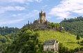 Cochen germany castle and mosel river Stock Images