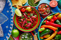 Cochinita pibil mexican food with red onion platillo and coriander Royalty Free Stock Images