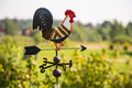 Cock Weathervane Royalty Free Stock Photo