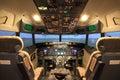 Cockpit Royalty Free Stock Photo