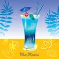 Cocktail Blue Hawaii