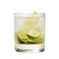 Cocktail - Caipirinha Royalty Free Stock Photo