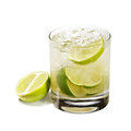 Cocktail - Caipirinha Royalty Free Stock Photo