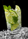 Cocktail de Mojito Imagem de Stock Royalty Free