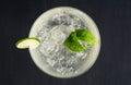 Cocktail margarita Royalty Free Stock Photo
