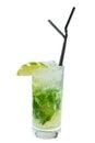 Cocktail Mojito Royalty Free Stock Photo