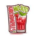 Cocktail Strawberry Mojito
