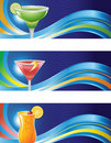 Cocktail Waves Stock Image