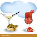 Cocktails 1 Royalty Free Stock Photos
