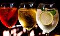 Cocktails: Aperol Spritz, Spri...