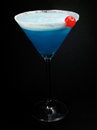 Cocktails Collection - Blue Lady Royalty Free Stock Photo