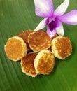 Coco del tailandés postre Imagen de archivo libre de regalías