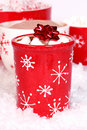 Cocoa at Christmas Royalty Free Stock Photo