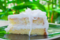Coconut Cake. Stock Images