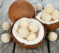 Coconut candy Royalty Free Stock Image