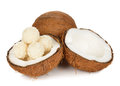 Coconut candy Stock Photo