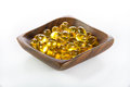 Cod-liver oil, omega3, vitamin D Royalty Free Stock Photo