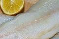 Codfish in polish cuisine on the polish table tasty cod Royalty Free Stock Photos