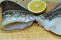 Codfish in polish cuisine on the polish table tasty cod Stock Photography