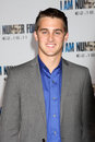 Cody johns arrives at the i am number four premiere los angeles feb village theater on february in westwood ca Royalty Free Stock Photo