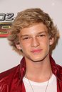 Cody simpson at kiis fm s wango tango concert staples center los angeles ca Royalty Free Stock Images