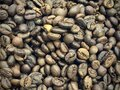 Cofee Beans Chaotic Spill Royalty Free Stock Photo