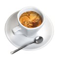 Cofee cup of very appetite Royalty Free Stock Photography
