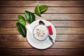 Coffe with cream Royalty Free Stock Photo