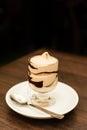 Coffe cream Royalty Free Stock Photo