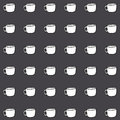Coffe cup wallpaper great for any use vector eps Stock Photo