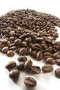 Coffe grains Royalty Free Stock Photos
