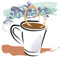 Coffee Aroma Stock Photography
