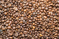 Coffee backgroun utter background from roasted grain Royalty Free Stock Image