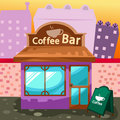 Coffee bar Royalty Free Stock Photo