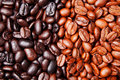 Coffee bean background Stock Photos