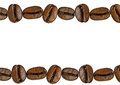 Coffee bean isolated Royalty Free Stock Photo