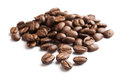 Coffee bean with white background Stock Photos