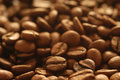 Coffee beans background with many Stock Image